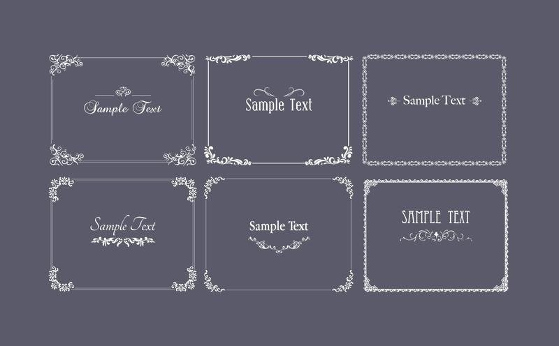 25 Luxury Collection Round Adhesive Label Template