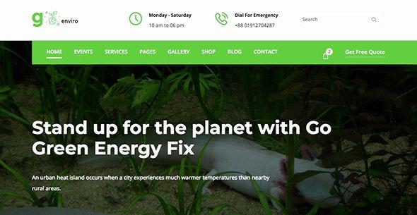 25 Non Profit Website Templates for 501 C organizations