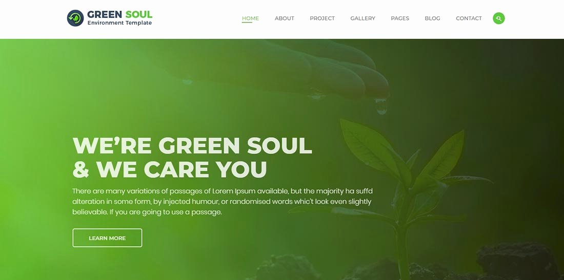 25 Non Profit Website Templates for Not for Profit