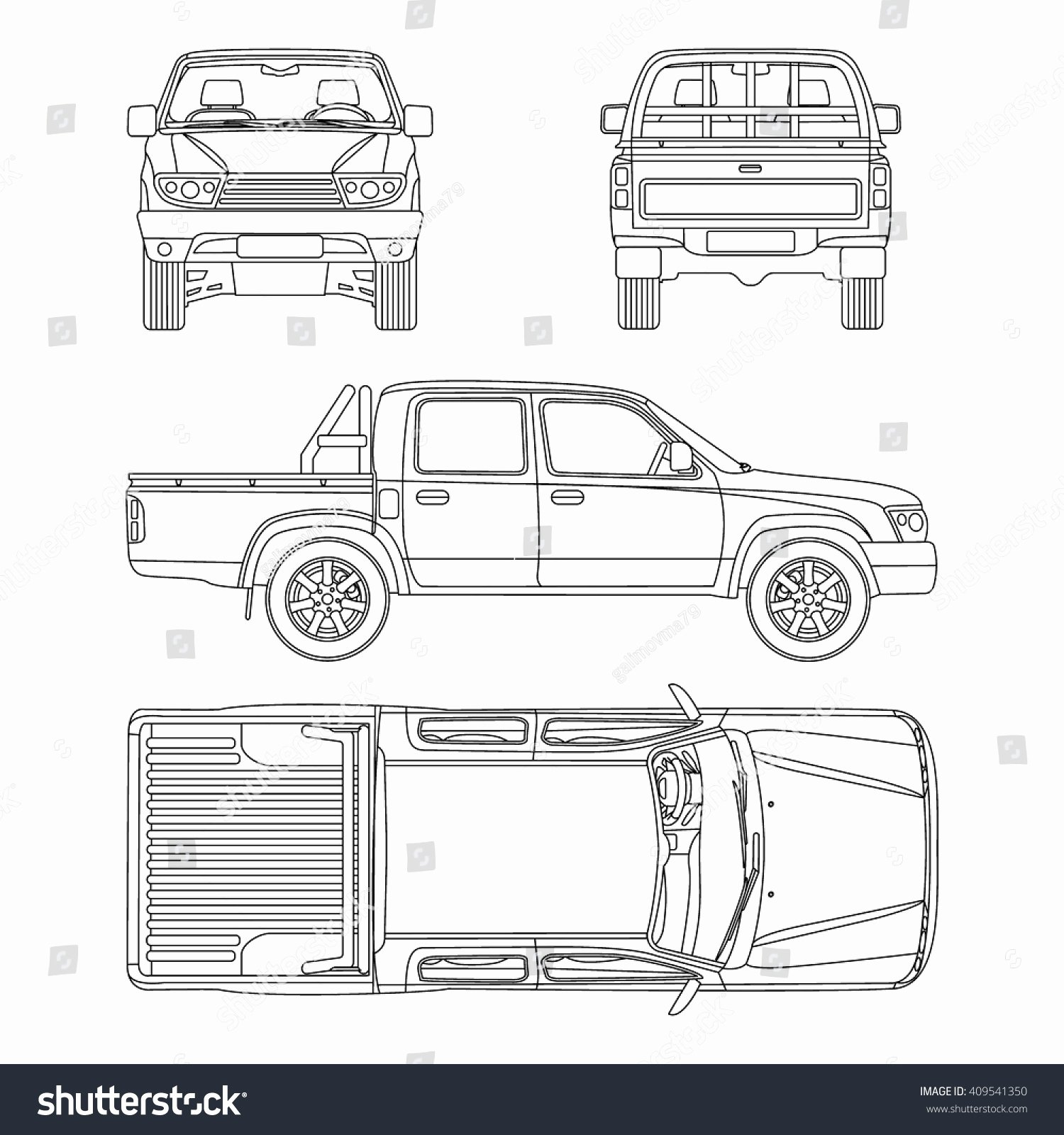 25 Of Crew Cab Truck Diagram Template