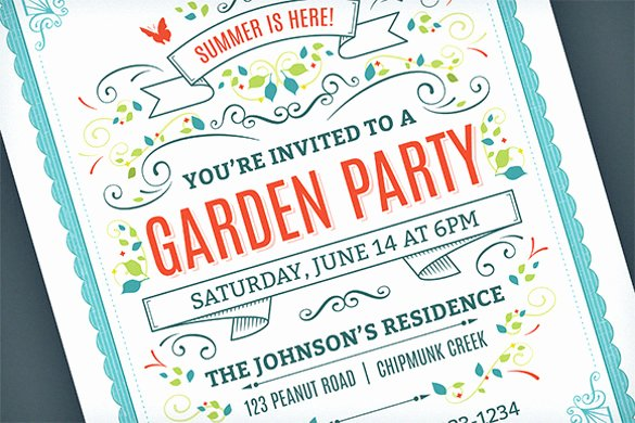 25 Party Invitation Templates Psd Ai Word