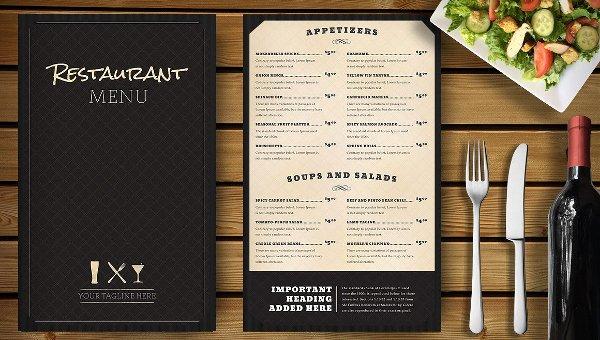25 Restaurant Menu Template Free Premium Psd Vector Ai