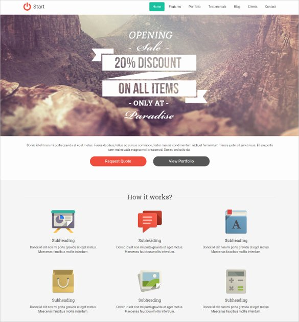 25 Single Page Website themes & Templates