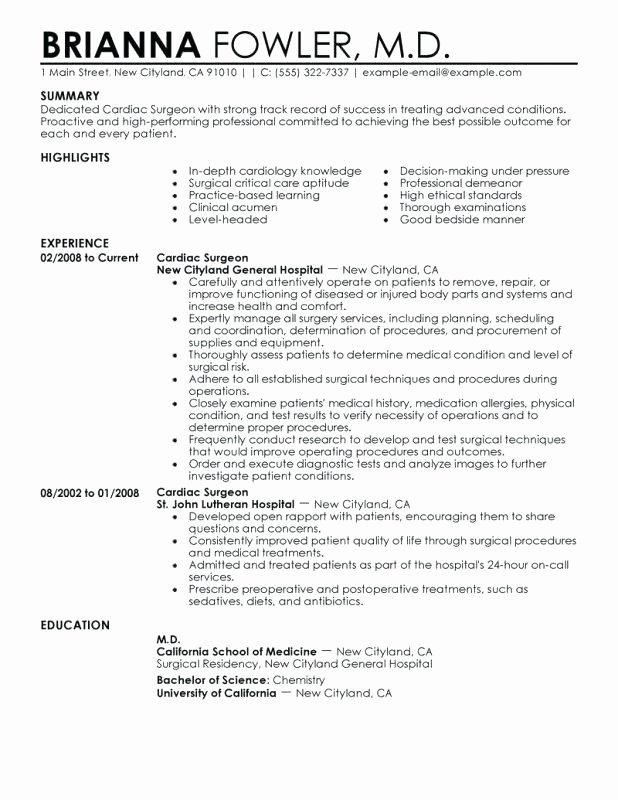 25 Surgical Tech Resume Sample Download