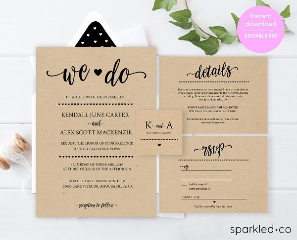 25 Wedding Invitation Templates Psd Eps Png Word