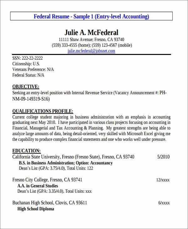 26 Accountant Resume formats