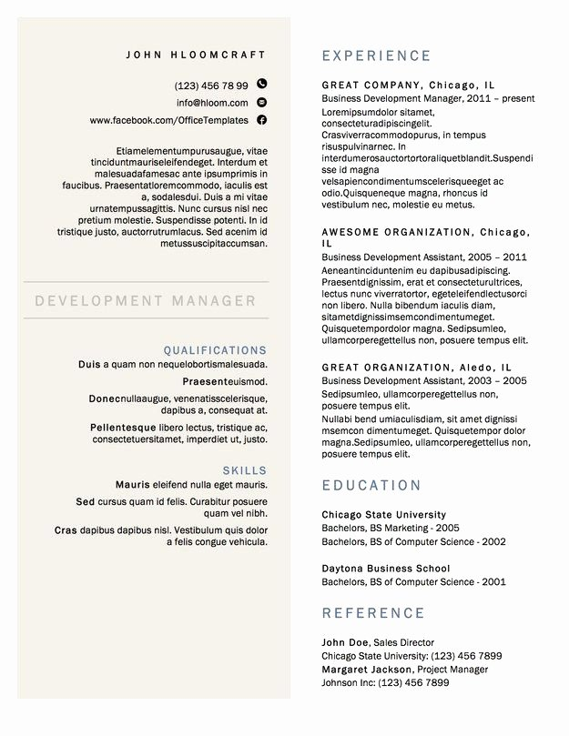 26 Beautiful Image Latex Resume Template Puter