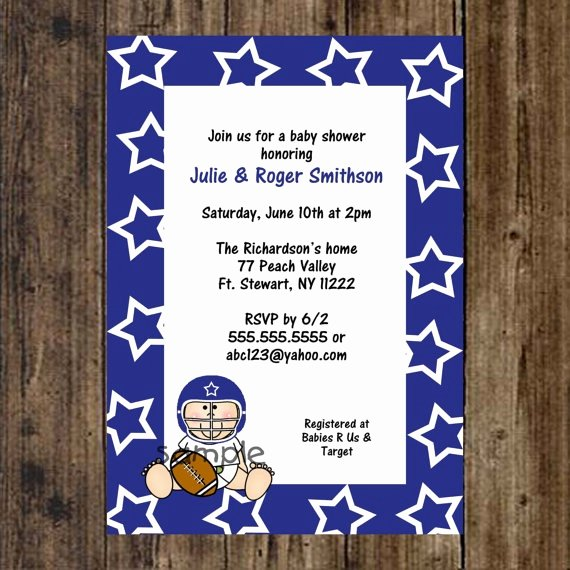 26 Best Images About Dallas Cowboys Baby Shower On Pinterest