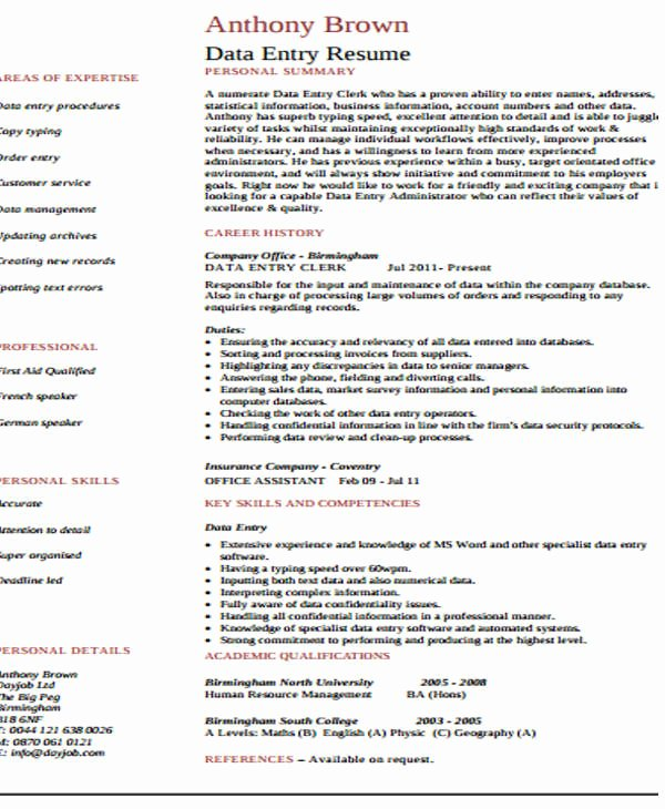 26 Blank Work Resume Templates Pdf Doc