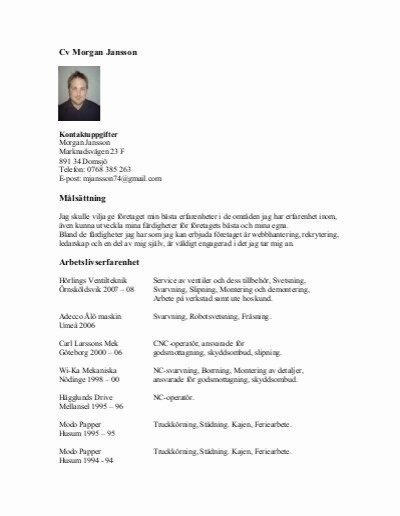 26 Cnc Machine Operator Resume Sample