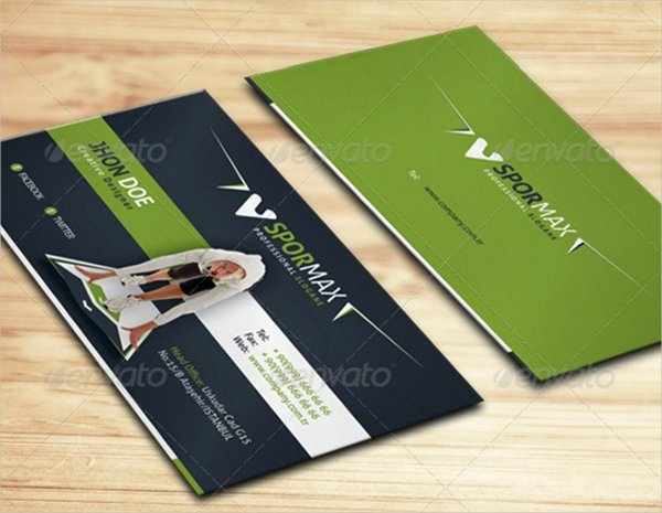 26 Fitness Business Card Templates Ms Word Shop