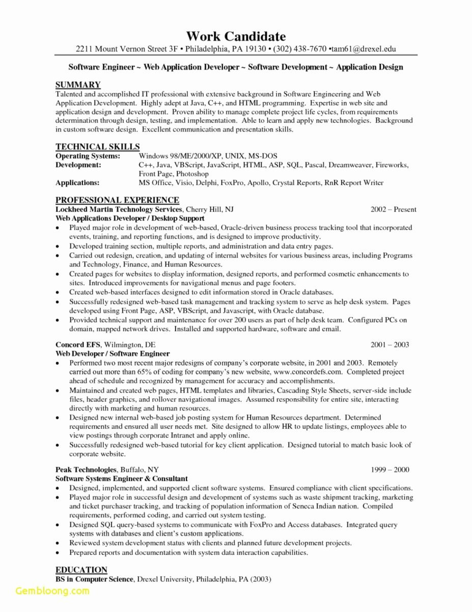 26 Front End Developer Resume