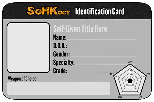 26 Id Card Templates Psd