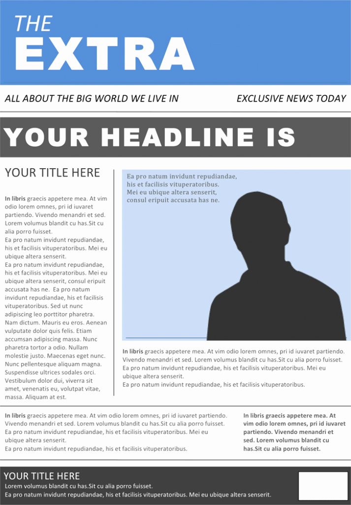 26 Newspaper Templates Free Word Pdf Psd Indesign