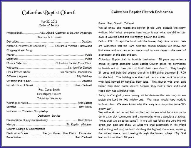 26 images of church bulletin template microsoft word 88
