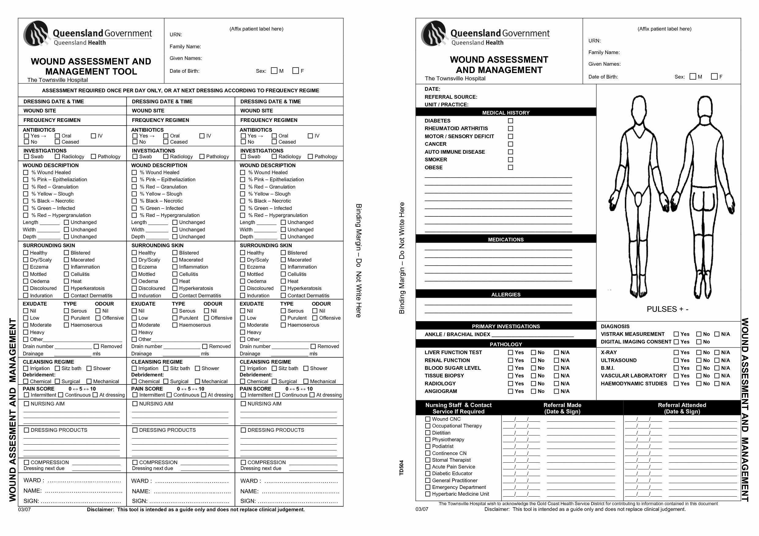 26 Of Wound Care Documentation Template
