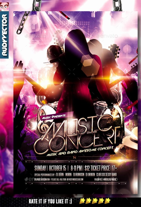 26 Psd Band Flyer Templates & Designs