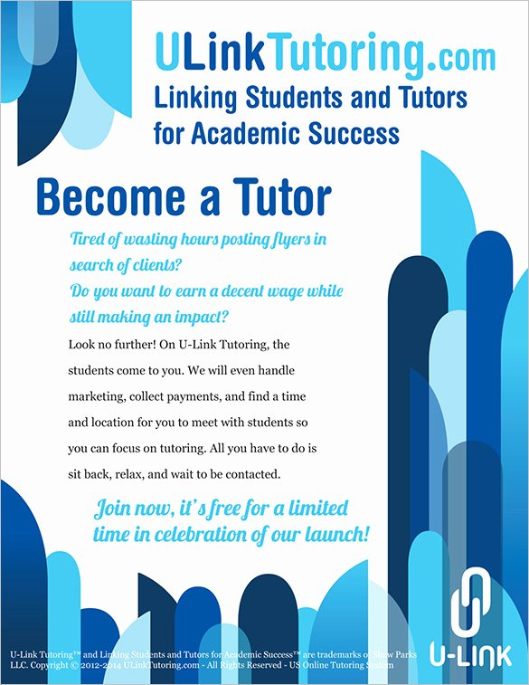 26 Tutoring Flyer Templates Psd Ai Vector Eps format