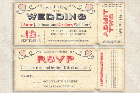 26 Wedding Shower Invitation Templates – Free Sample