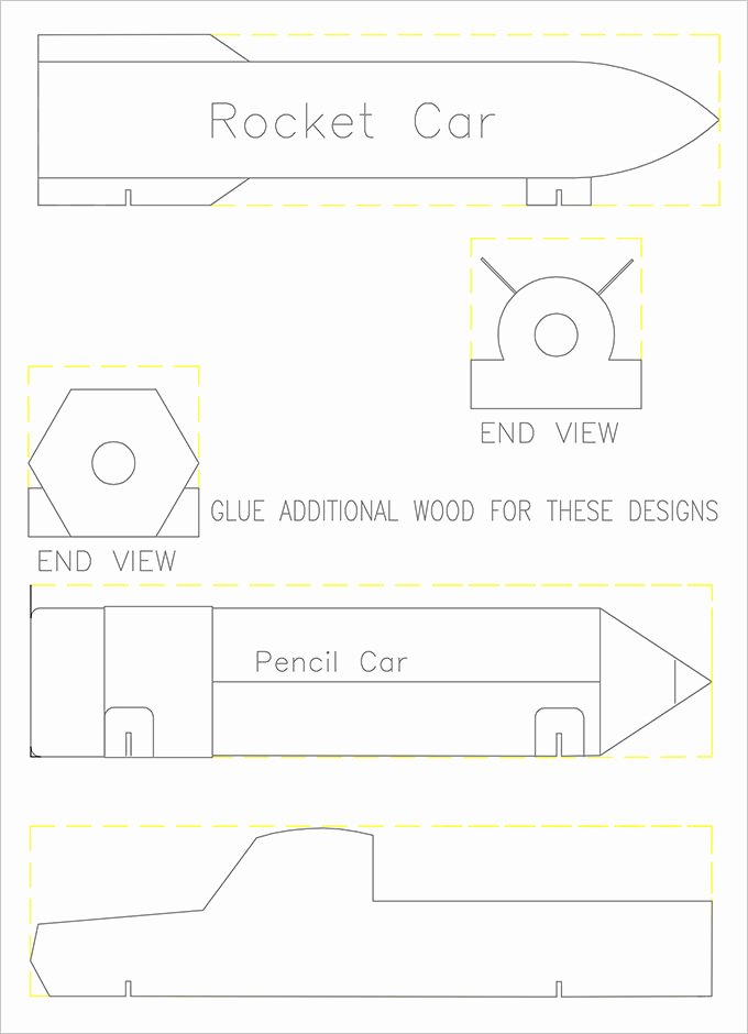 27 Awesome Pinewood Derby Templates – Free Sample