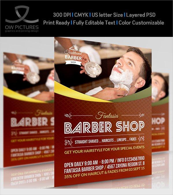 27 Barbershop Flyer Templates Free & Premium Download