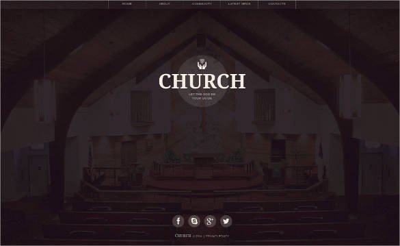 27 Free Church Website themes & Templates