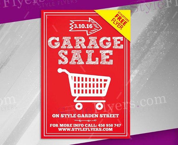 27 Garage Sale Flyer Templates Free & Premium Download