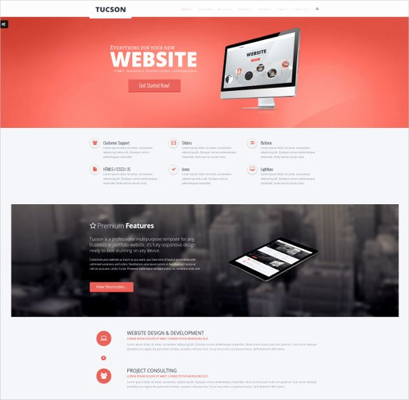 27 Google Website themes & Templates