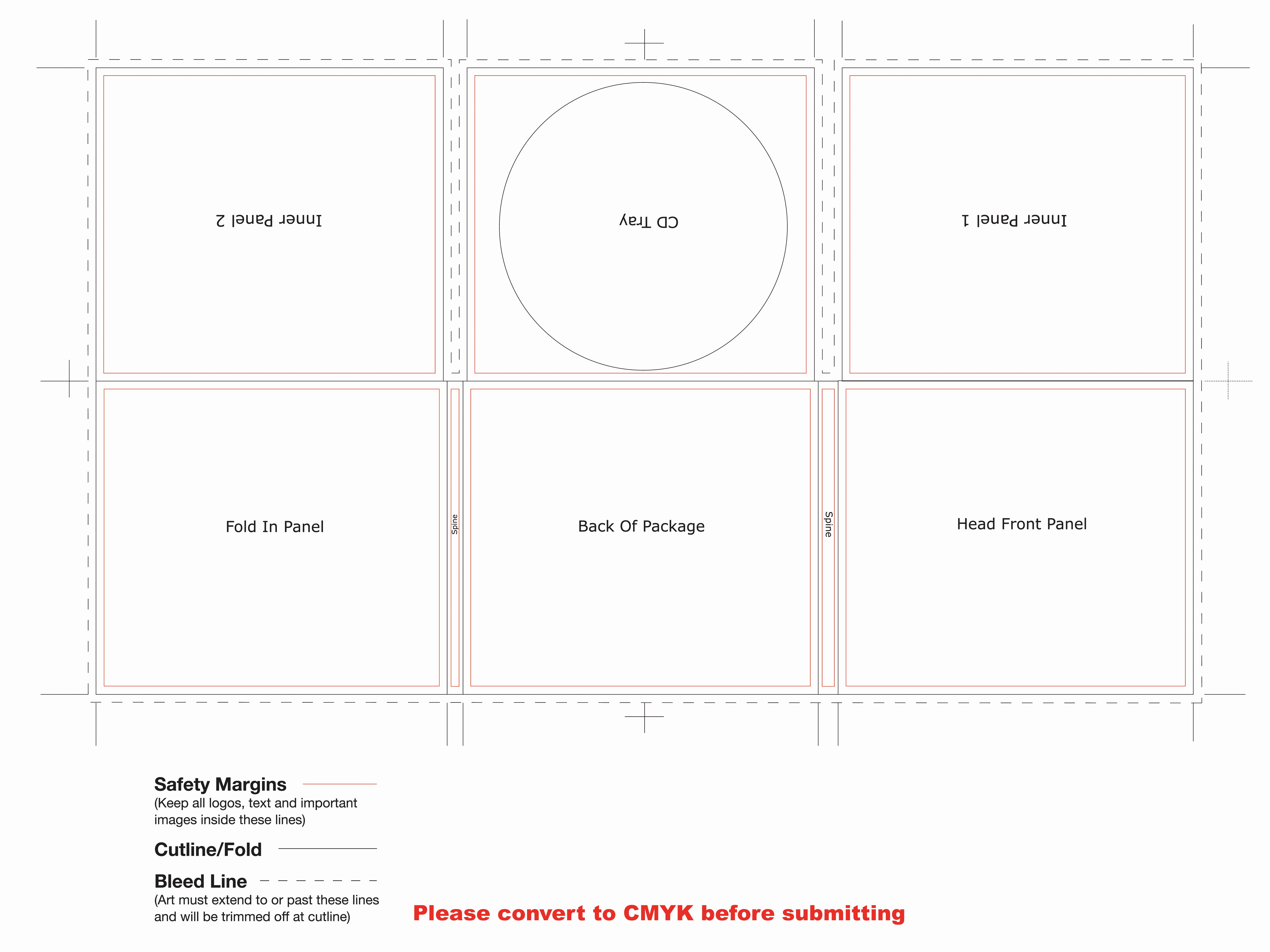 27 Of Cd Cover Template Actual Size