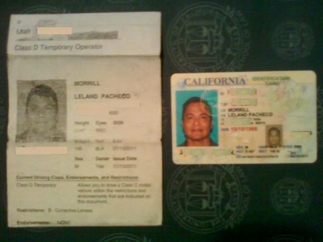 27 Of Utah State Temporary Drivers License