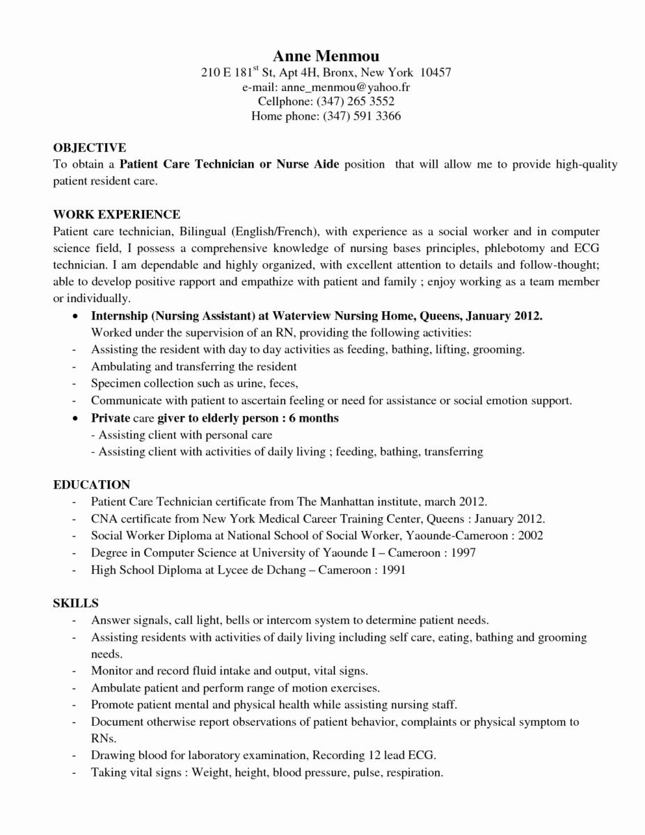 27 Pharmacy Technician Resume Sample Template