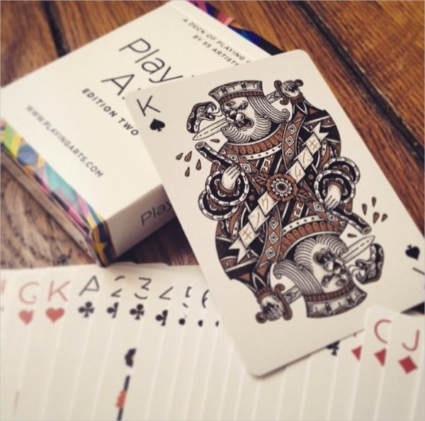 27 Playing Card Designs