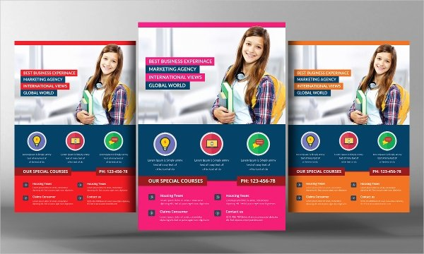 27 School Flyer Template Free Psd Ai Vector Eps