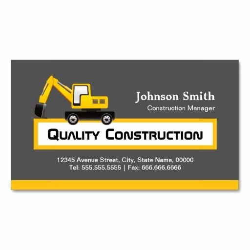 272 Best Images About Construction Business Cards On