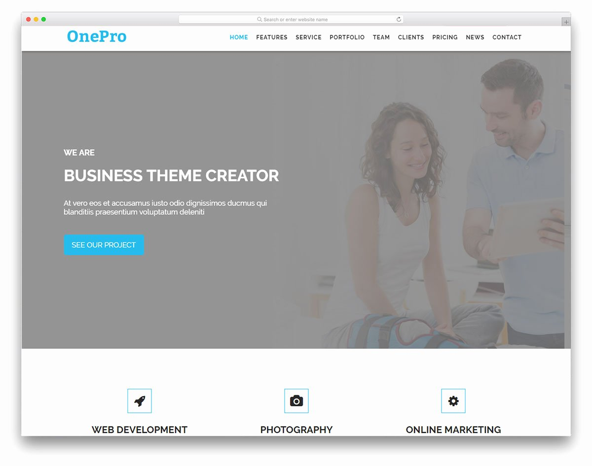 28 Best Free Bootstrap Landing Page Templates with Modern