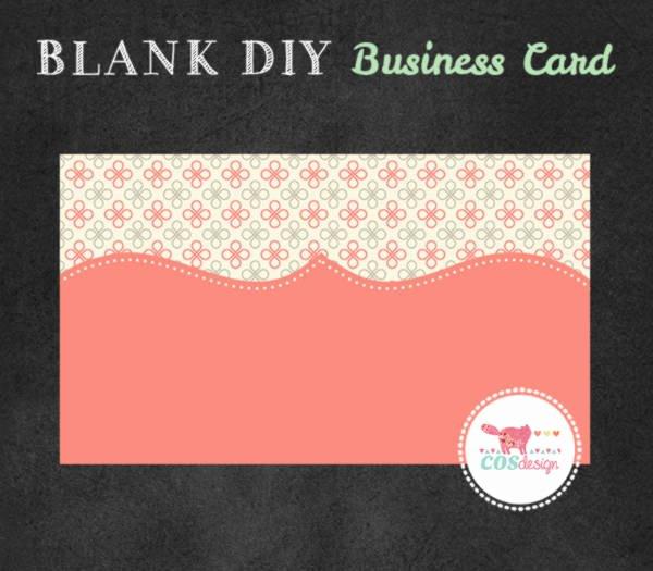 28 Blank Business Card Templates Free Psd Ai Vector