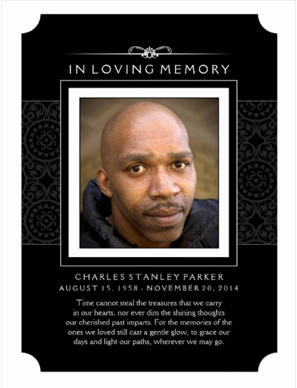 28 Funeral Invitation Templates Psd Ai