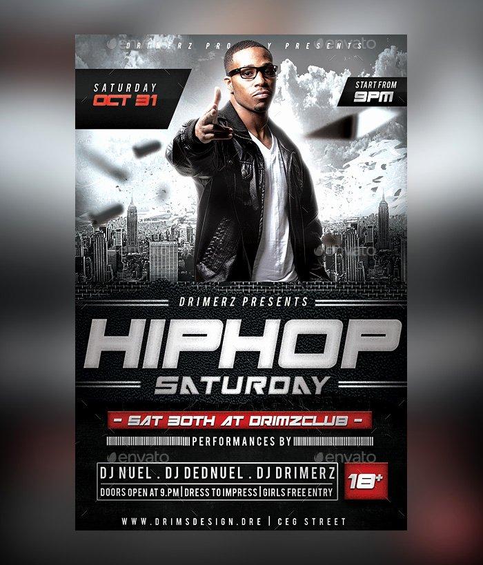 28 Hip Hop Flyer Psd Templates Free & Premium Designyep