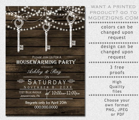 28 Housewarming Invitation Templates – Free Sample