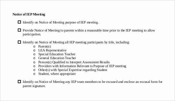 28 Notice Of Meeting Templates Doc Pdf