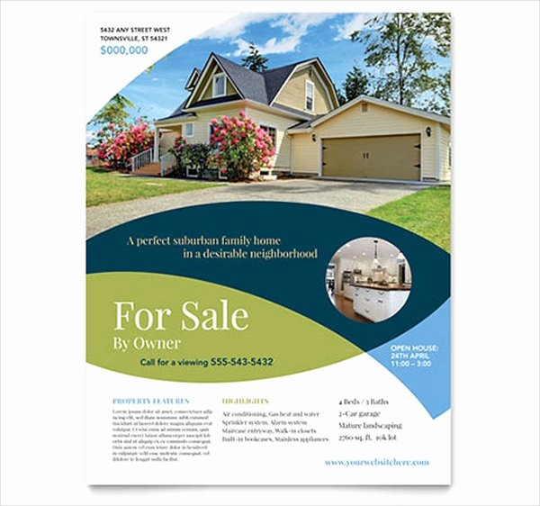 28 Real Estate Flyer Templates Free Psd Ai Eps format