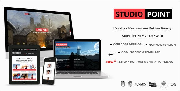 28 Studio Website Templates Free Download