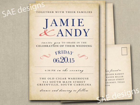 28 Wedding Invitation Wording Templates – Free Sample