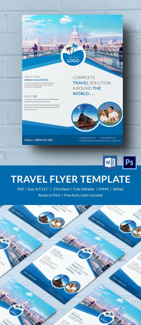 29 Best Microsoft Word Flyer Templates