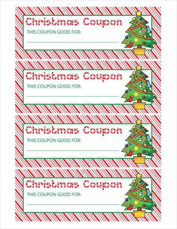 29 Christmas Coupon Templates Psd Doc Apple Pages