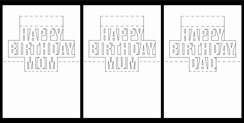 29 Inspirational Free Printable Pop Up Birthday Card