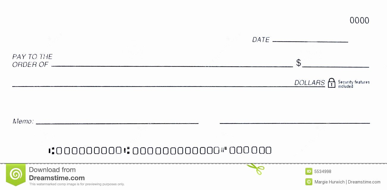29 Of Dummy Cheque Template