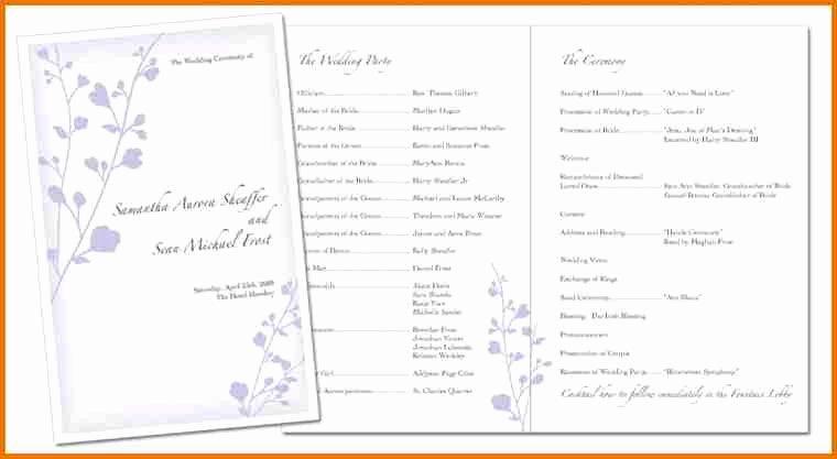 29 Of Program Booklet Template