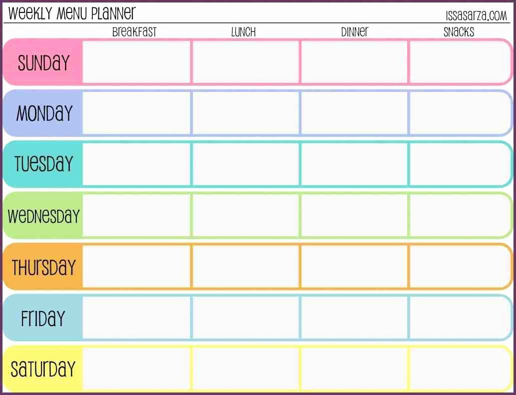 29 images of weekly workout schedule template 3532
