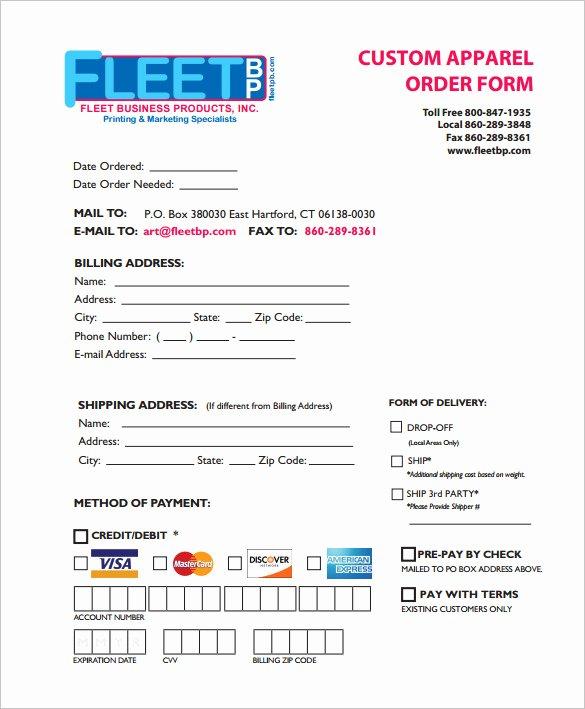 29 order form Templates Pdf Doc Excel